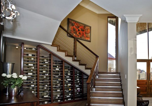 Versatile Wine Storage under Stairs is completed with the Great Design: Extravagant Wine Storage Under Stairs Wooden Style Rack ~ sayhihomes.com Architecture Inspiration