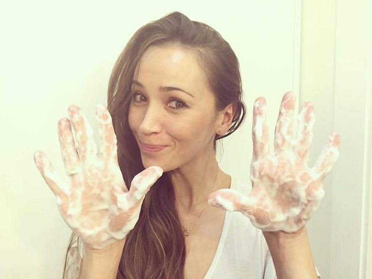 Dorota Czaja również myje ręce!