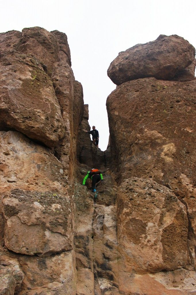 A Hike: Peralta Trail in the Superstition Mountains