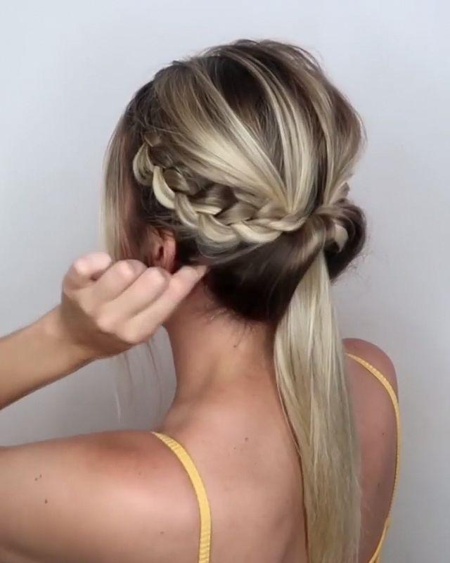 #hair #haircut #hairstyle #hairtutorials #hairstyles #haircolor #bridalhair #weddinghair #braided #braids #updos #Longhairstyles
