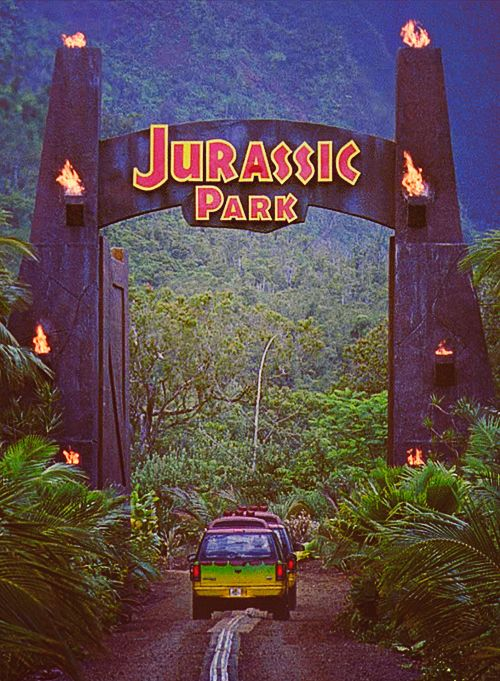 So excited for Jurassic World out in June! Jurassic park is my all time favourite set of films