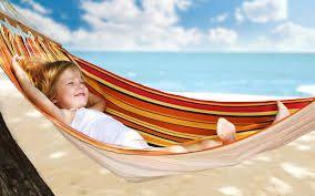 Afbeeldingsresultaat voor hangmat strand