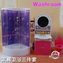 Freies Verschiffen, Neue Ankunft Nettes Badezimmer Puppe Zubehör Möbel Für  Barbie Puppe Weihnachten/Geburtstagsgeschenk