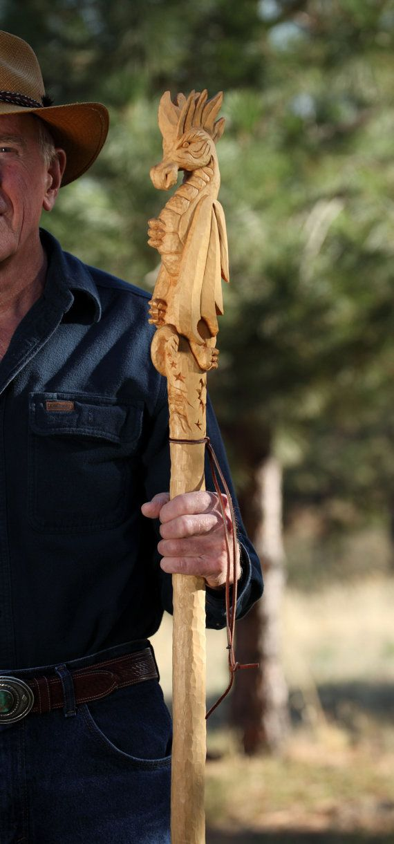 The best hand carved walking sticks ideas on pinterest
