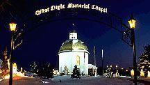 Silent Night, Stille Nacht, Silent Night Chapel, Oberndorf Silent Night Chapel replica, Silentnight - Bronner's CHRISTmas Wonderland