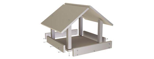 ber ideen zu vogelfutterhaus selber bauen auf pinterest vogelfutterhaus futterhaus. Black Bedroom Furniture Sets. Home Design Ideas