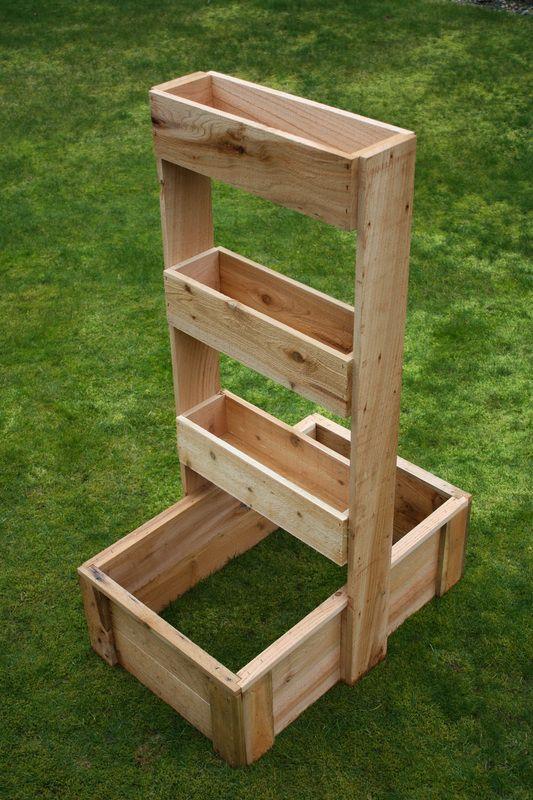 vertical gardening box - USA Garden Company