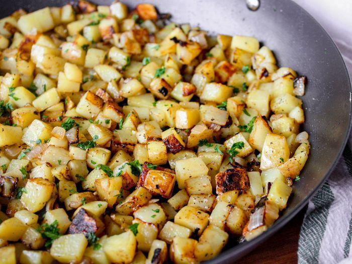 Sartén Desayuno Papas   – Breakfast potatoes skillet