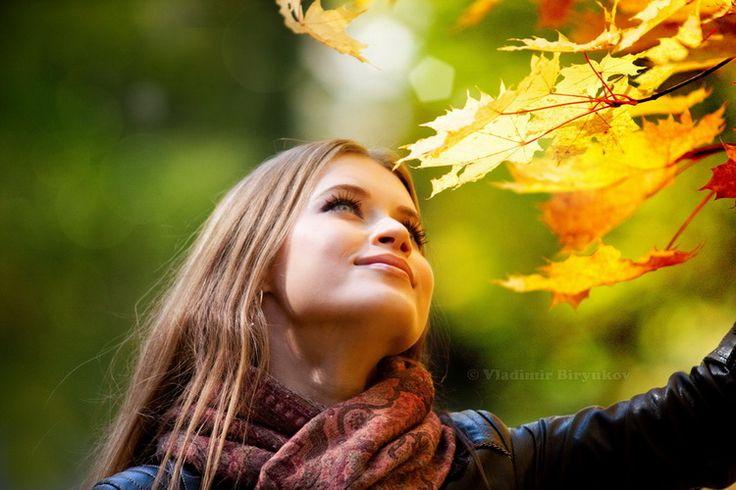 Фотосессия на природе осенью - отличный способ избавиться от скуки!