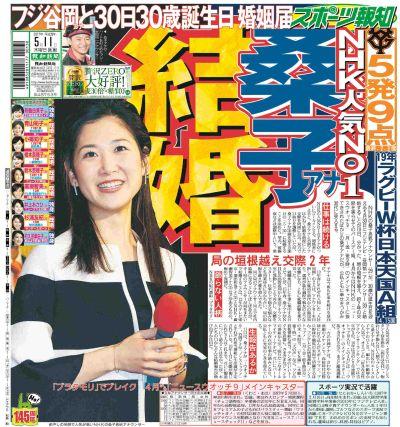 NHK桑子真帆アナ、フジ谷岡慎一アナと結婚!30歳バースデー5・30に婚姻届 #NHK #アナウンサー #結婚 #桑子真帆 #谷岡慎一