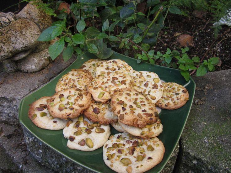 Love Cookies with Pistachio and Rosewater — Shambhala House of Yoga. http://shambhalahouseofyoga.com/blog//love-cookies-with-pistachio-and-rosewater