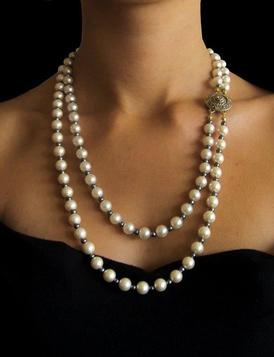 Timeless Pearls & A Little Black Dress... Perfect