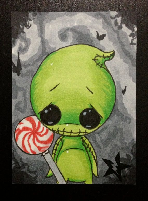 Hey, I found this really awesome Etsy listing at https://www.etsy.com/listing/157494412/sugar-fueled-oogie-boogie-nightmare