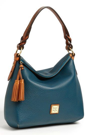 Dooney & Bourke Leather Hobo, Large available at #Nordstrom I want this sooo bad!