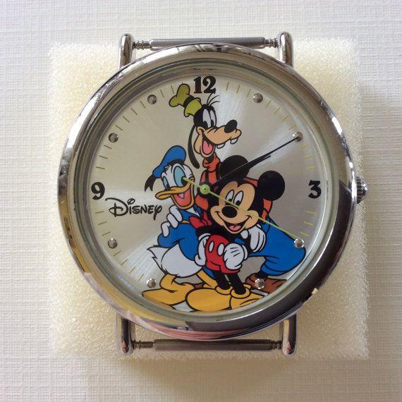 DISNEY Special Edition Watch  Goofy  Mickey by SincerelyAlexisVTG