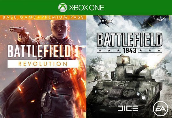 Battlefield 1 Revolution Battlefield 1943 Bundle Xbox One