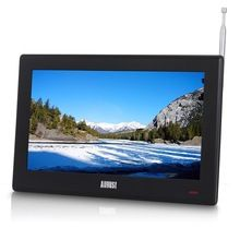 """August DA100D 10.1"""" Portable Freeview TV Mini Flat Screen Digital LCD Television with DVB-T and DVB-T2 Tuner / PVR /Multimedia Player Rechargeable ...(China (Mainland))"""