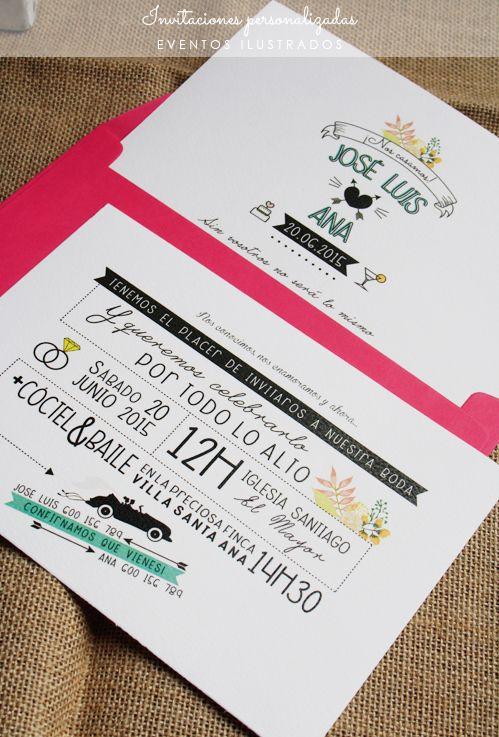 invitaciones modernas #invitaciones #boda #evento #diseño