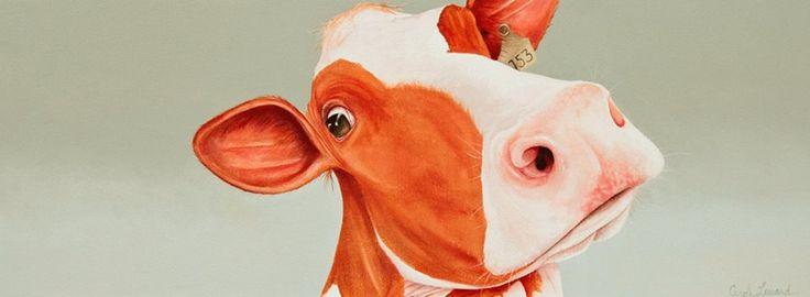 Cow Choupette 10''x 30''  vendu/sold