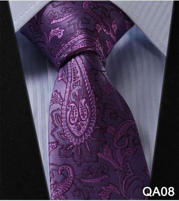 Gorgeous Mens Silk Tie Necktie Wedding JACQUARD WOVEN Tie Party Usher gifts