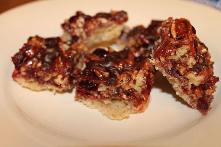 cranberry turtle bar | Bars | Pinterest