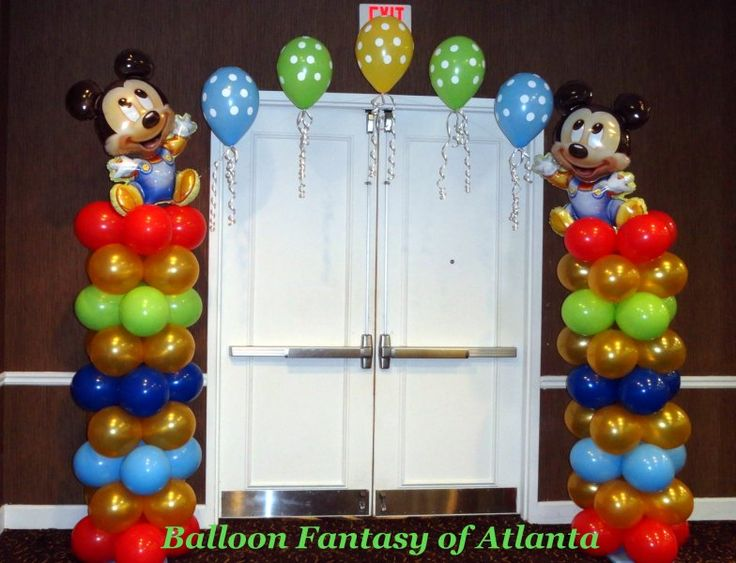 Mickey Mouse 1st Birthday Party Decor