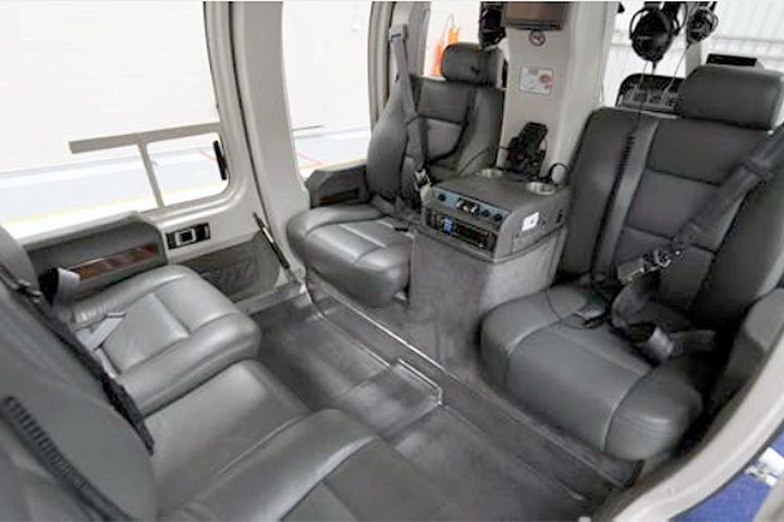Bell Jet Ranger Internal View