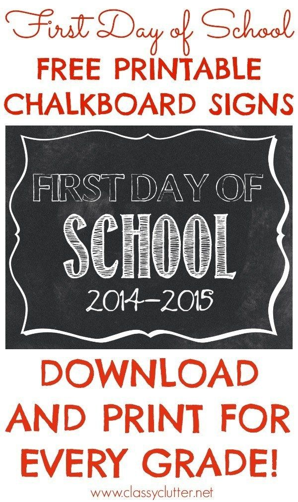 This is a graphic of Persnickety First Day of School Sign Free Printable