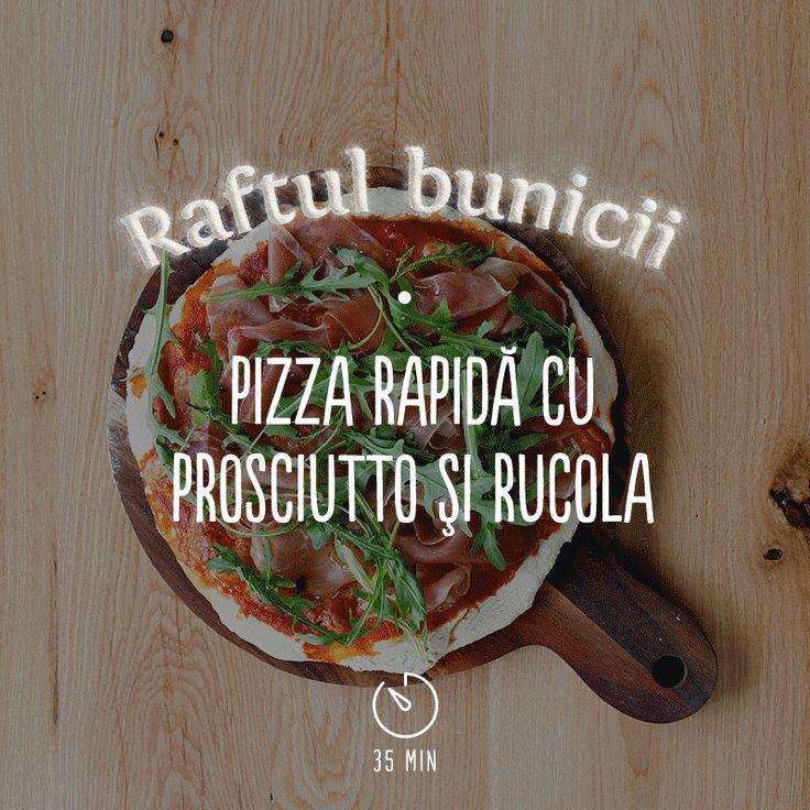 O rețetă simplă care îți va satisface negreșit pofta de o pizza bună în serile de weekend! #RaftulBunicii#BunatatiCuDragoste