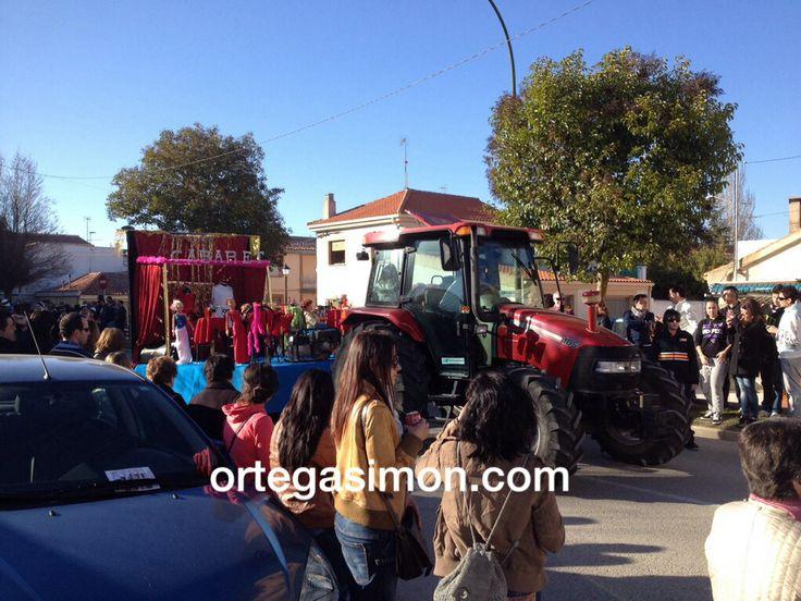 #Tarancón desfile de carnaval 2014. #iamcaseih #ortegasimon