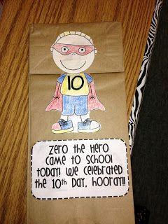Zero the Hero Classroom Counting FUN!  $