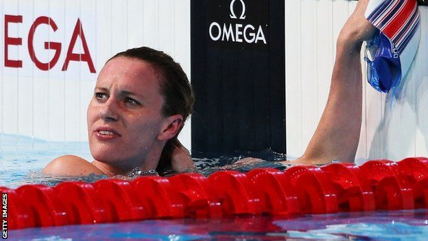 Britain's Jazz Carlin missed out on a place in the 1500m freestyle final at the World Championships after recording the ninth quickest time in the heats.
