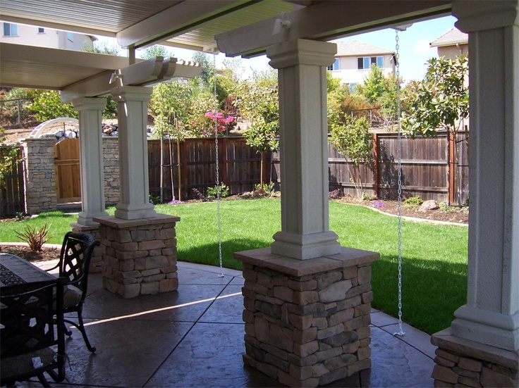177 Best Images About Home Patio Covers On Pinterest