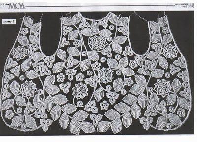 Письма и искусство Lala: как изменить ирландское вязание крючком