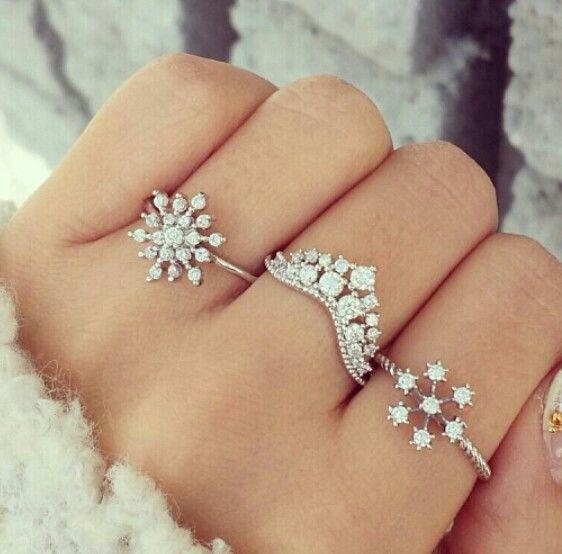 aneis prata com brilhantes