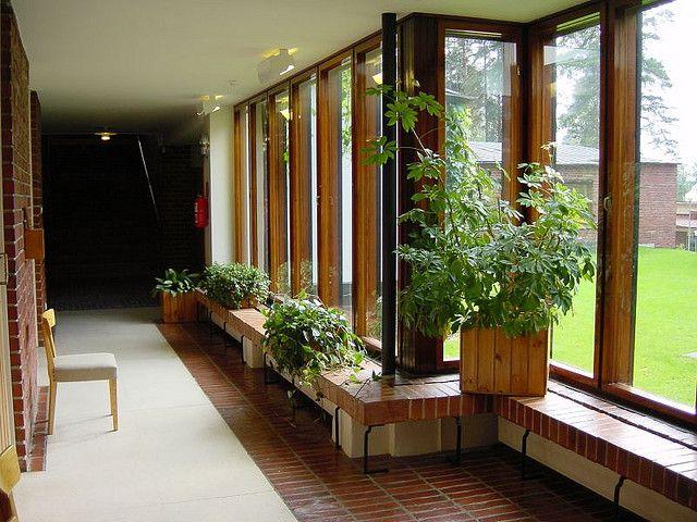 Saynatsalo Town Hall, Alvar Aalto, 1952