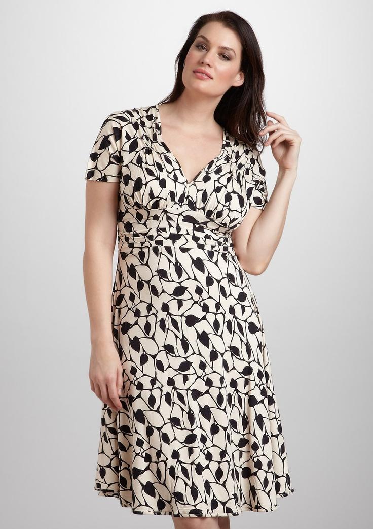 RACHEL PALLY WHITE LABEL Plus Print Carrie Dress