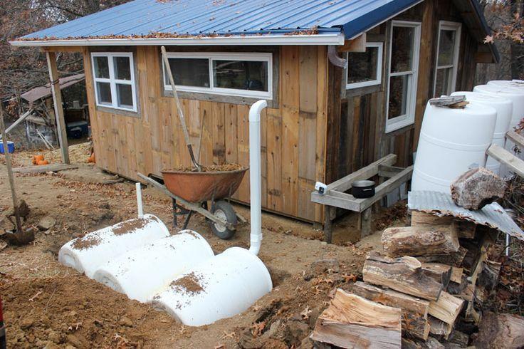 Winter Water Catchment http://Solutionshttp://homestead-honey.com