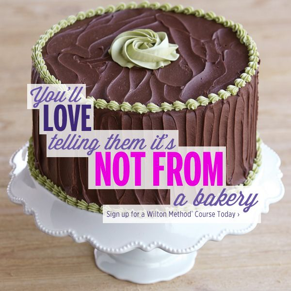 Let your next cake be a crowd-pleaser, thanks to the skills you'll develop in the new Wilton Method Course 1. Find a class near you!