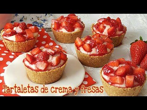 Os enseño paso a paso como hacer unas deliciosas tartaletas de crema pastelera y fresas , muy fáciles de hacer! Si te gusta dinos HOLA y dale a Me Gusta MIREN …   Receitas Soberanas