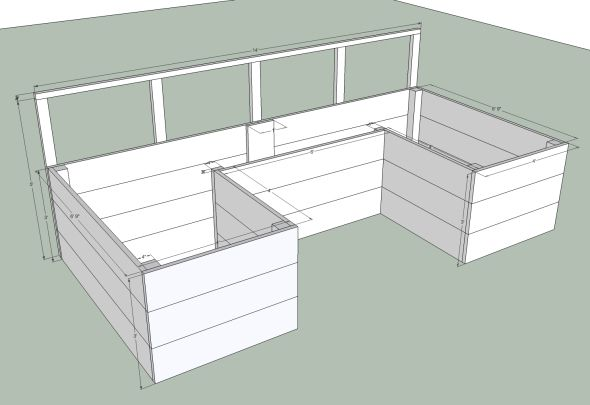 free building plans diy raised garden bed
