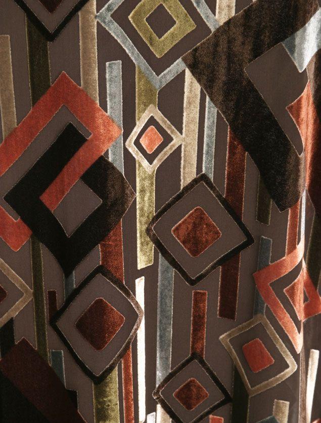 c850aa9455eaf Plus Size Special Occasion Kimono Coat Silk Velvet Burnout Deco Naturals