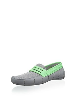 50% OFF Robert Wayne Men's Clipper Casual Slip-on Float (Grey/Green)