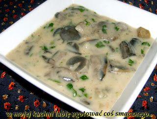 W Mojej Kuchni Lubię..: sos z koźlarzy czerwonych ...