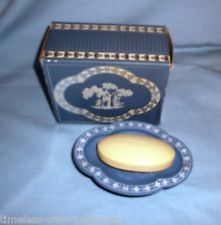 Avon Avonshire Blue Soap Dish and Soap