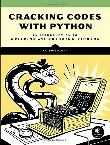 Cracking Codes with Python teaches complete beginners how to program in the Python programming language. The book features the source code to several ciphers and hacking programs for these ciphers.