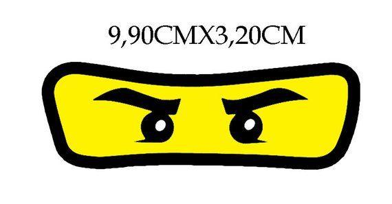 Aufnher Aufbgler Applikation Lego Ninjago Augen Etsyninjago Augen Vorlage Lego Ninjago Ninjago Augen Aufbugler