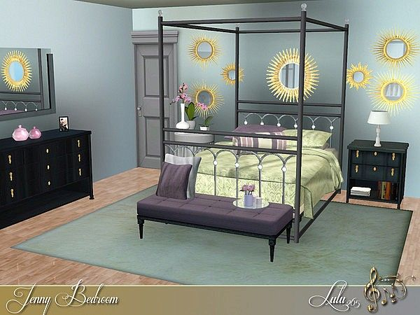 21 best images about sims 3 vintage homes on pinterest for Bedroom designs sims 4