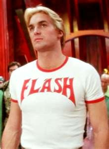 Flash Gordon-Sam J Jones. Flash Gordon Tees (and Ted tees!) at OldSchoolTees.com