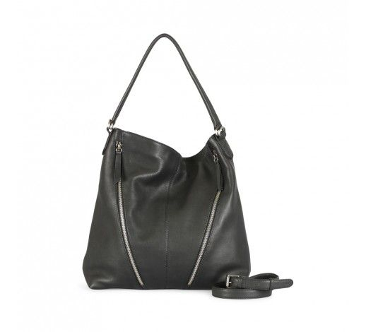 Tribecca Bag in black leather // Markberg